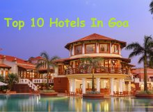 Top 10 hotels in Goa