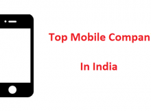 top-mobile-companies-in-India