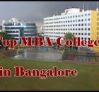 Top MBA Colleges in Bangalore