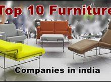 Top 10 furniture companies