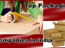 Top Packaging comapanies in india