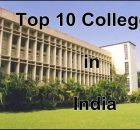 Top 10 colleges in india